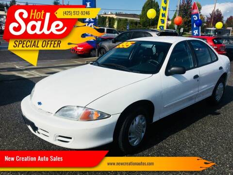 2001 Chevrolet Cavalier for sale in Everett, WA