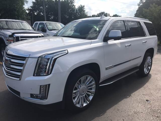 2016 cadillac escalade 4x4 platinum 4dr suv in monroe mi. Black Bedroom Furniture Sets. Home Design Ideas