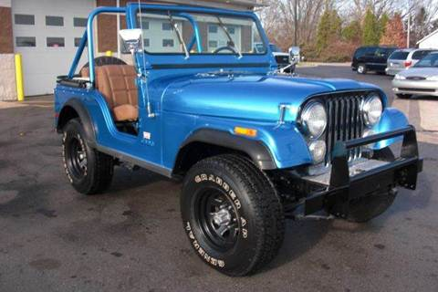 1978 Jeep CJ-5 for sale at A 1 Motors in Monroe MI