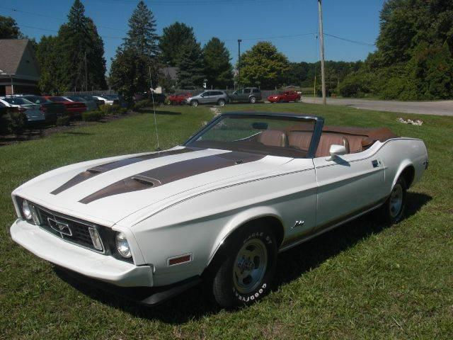 1973 Ford Mustang for sale at A 1 Motors in Monroe MI