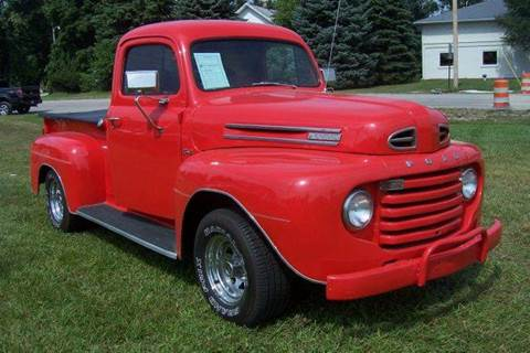 1949 Ford E-100 for sale at A 1 Motors in Monroe MI