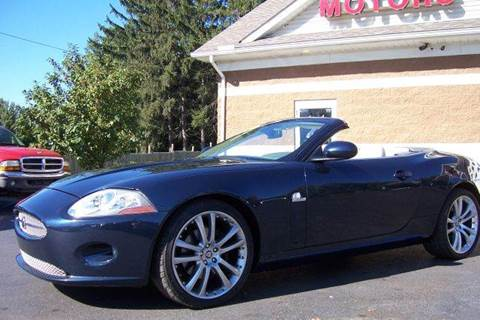 2007 Jaguar XK for sale at A 1 Motors in Monroe MI