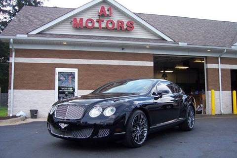 2008 Bentley Continental for sale at A 1 Motors in Monroe MI
