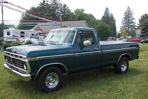 1974 Ford E-100 for sale at A 1 Motors in Monroe MI
