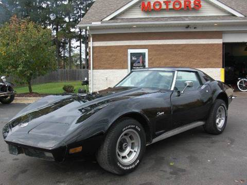 1973 Chevrolet Corvette Stingray for sale at A 1 Motors in Monroe MI