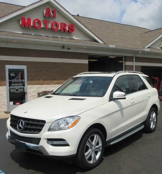 2013 Mercedes-Benz M-Class ML350 4MATIC AWD 4dr SUV In