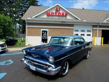 1957 Chevrolet Bel Air for sale at A 1 Motors in Monroe MI
