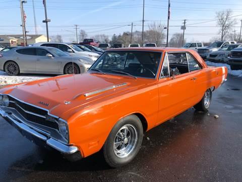 1969 Dodge Dart for sale at A 1 Motors in Monroe MI