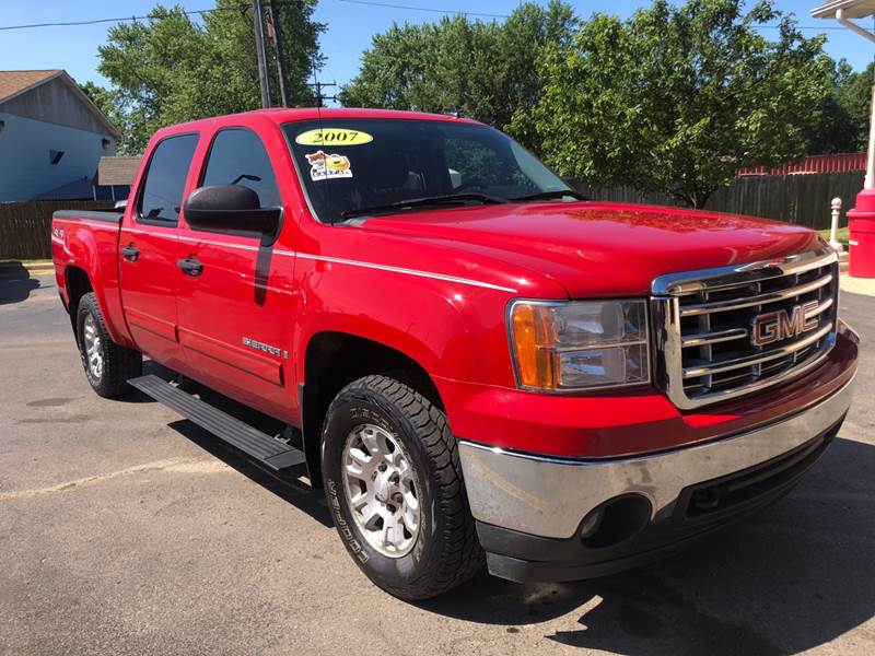 2007 GMC Sierra 1500 for sale at A 1 Motors in Monroe MI