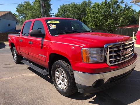 2007 GMC Sierra 1500 for sale at A 1 Motors in Monroe MI