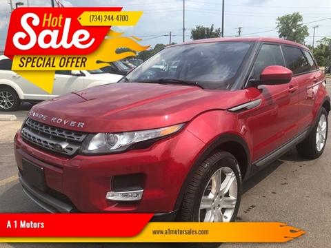 2015 Land Rover Range Rover Evoque for sale in Monroe, MI
