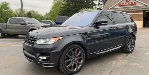 2016 Land Rover Range Rover Sport for sale in Monroe, MI