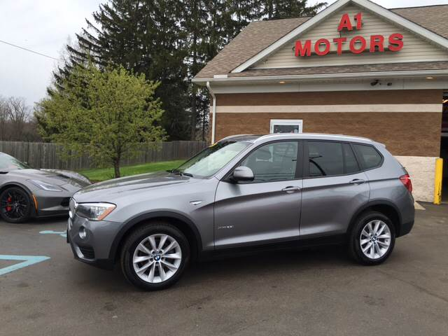 2015 bmw x3 awd xdrive28i 4dr suv in monroe mi a 1 motors. Black Bedroom Furniture Sets. Home Design Ideas