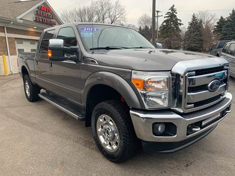 2012 Ford F-350 Super Duty Lariat for sale at A 1 Motors in Monroe MI