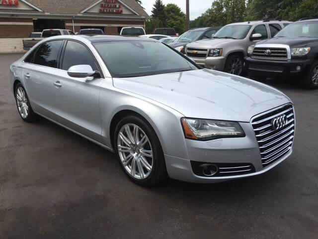 2012 Audi A8 L for sale at A 1 Motors in Monroe MI