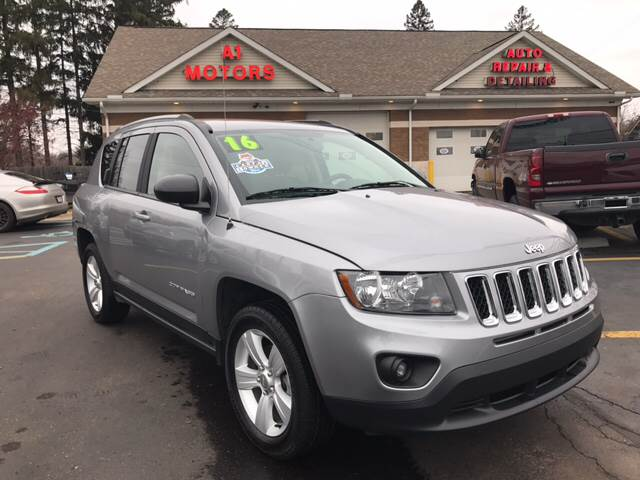 2016 jeep compass 4x4 sport 4dr suv in monroe mi a 1 motors. Black Bedroom Furniture Sets. Home Design Ideas