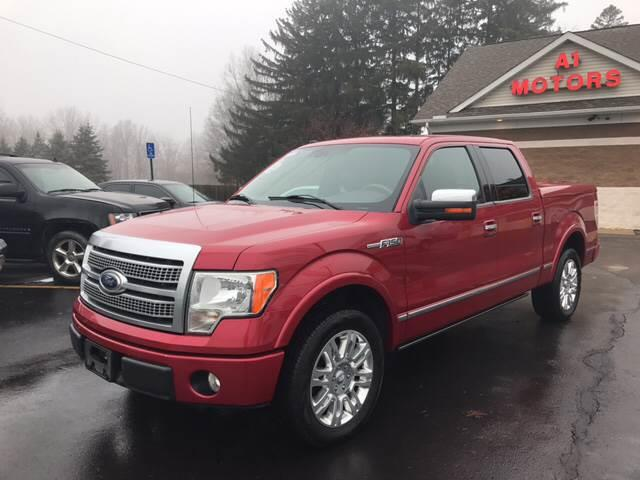 2010 ford f-150 4x2 platinum 4dr supercrew styleside 6.5 ft. sb in