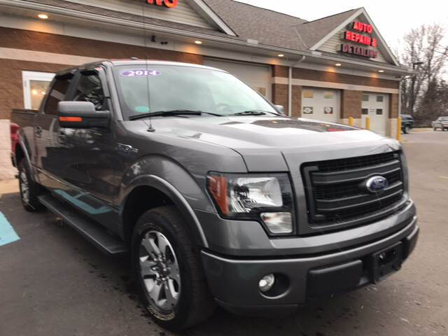 2014 ford f 150 4x2 fx2 4dr supercrew styleside 5 5 ft sb in monroe mi a 1 motors. Black Bedroom Furniture Sets. Home Design Ideas