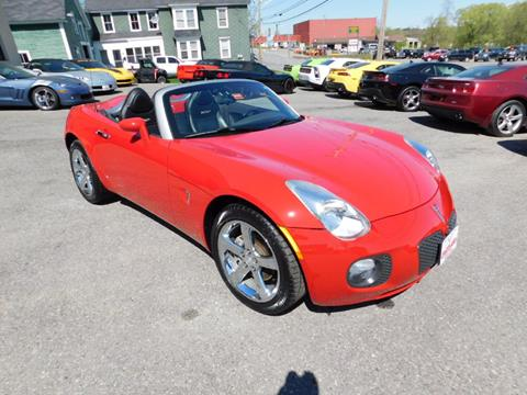 2007 Pontiac Solstice for sale in Waterville, ME