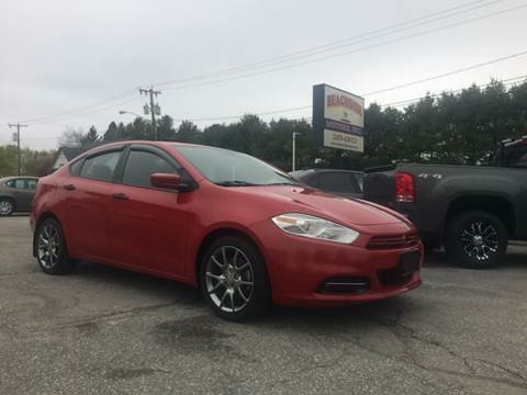 2013 Dodge Dart for sale at Beachside Motors, Inc. in Ludlow MA