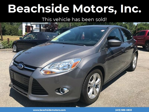 2012 Ford Focus for sale at Beachside Motors, Inc. in Ludlow MA
