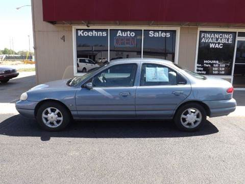 1999 Ford Contour for sale at Koehn's Auto Sales and OK Car Rentals in Mcpherson KS