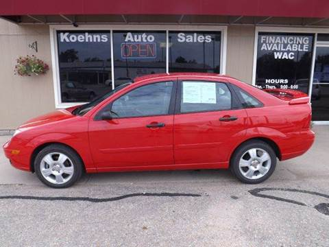 2005 Ford Focus for sale at Koehn's Auto Sales and OK Car Rentals in Mcpherson KS
