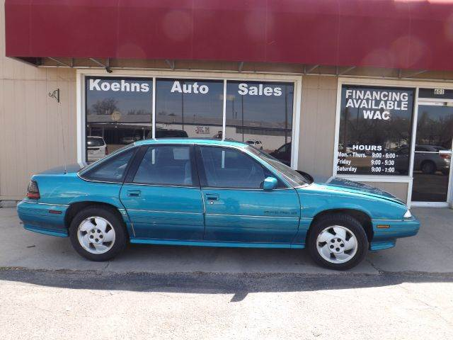 1994 Pontiac Grand Prix for sale at Koehn's Auto Sales and OK Car Rentals in Mcpherson KS