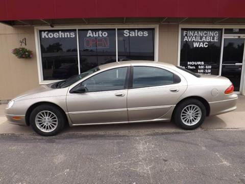 2004 Chrysler Concorde for sale at Koehn's Auto Sales and OK Car Rentals in Mcpherson KS