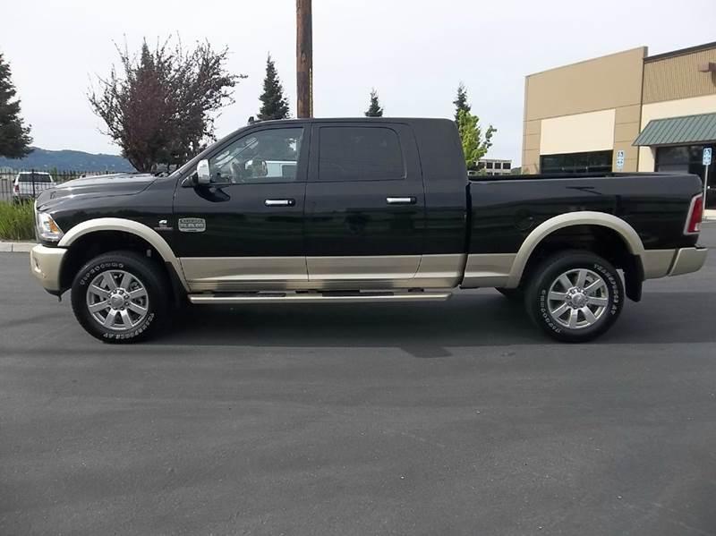 2016 RAM Ram Pickup 3500 4x4 Laramie Longhorn 4dr Mega Cab 6.3 ft. SB Pickup - Fairfield CA