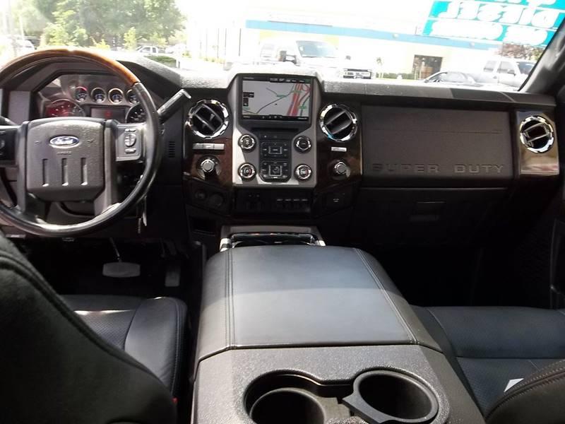 2015 Ford F-350 Super Duty 4x4 Platinum 4dr Crew Cab 8 ft. LB DRW Pickup - Fairfield CA