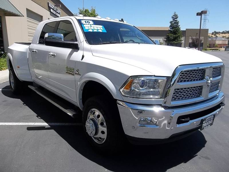 2016 RAM Ram Pickup 3500 4x4 Laramie 4dr Mega Cab 6.3 ft. SB Pickup - Fairfield CA