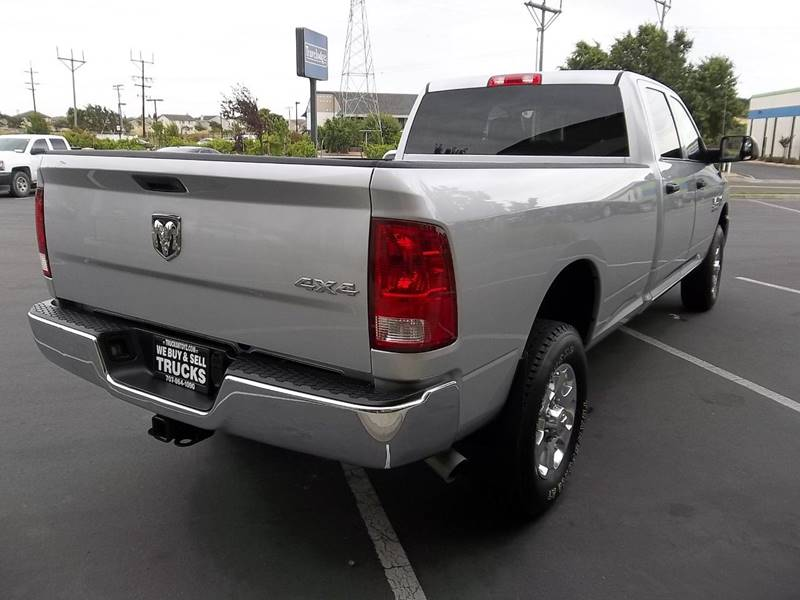 2016 RAM Ram Pickup 2500 4x4 Tradesman 4dr Crew Cab 8 ft. LB Pickup - Fairfield CA