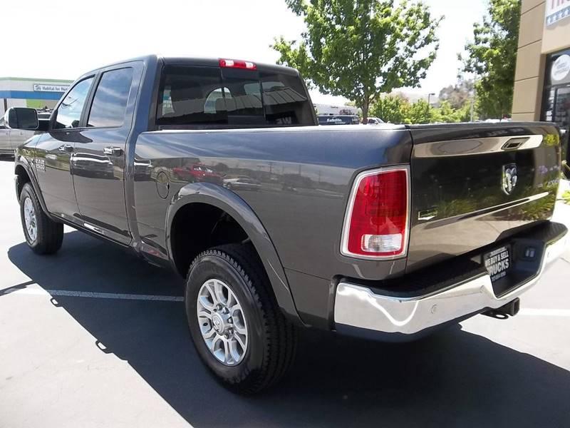 2016 RAM Ram Pickup 2500 4x4 Laramie 4dr Crew Cab 6.3 ft. SB Pickup - Fairfield CA