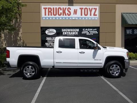 2018 GMC Sierra 2500HD for sale in Fairfield, CA