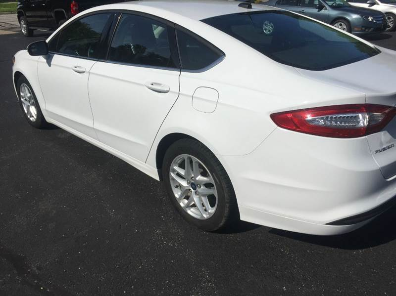 2014 Ford Fusion SE 4dr Sedan - Marshall MO