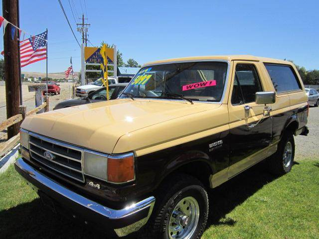 1989 Ford Bronco for sale at Auto Depot in Carson City NV