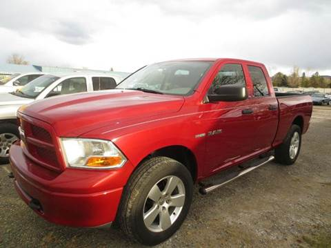 2010 Dodge Ram Pickup 1500 for sale at Auto Depot in Carson City NV