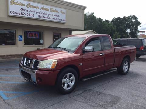 2004 Nissan Titan for sale in Seneca, SC