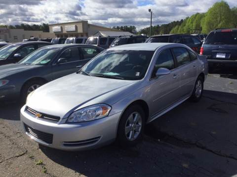 2011 Chevrolet Impala for sale in Seneca, SC