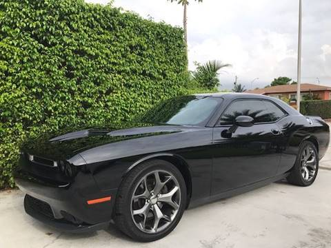 2015 Dodge Challenger for sale in Hialeah Gardens, FL