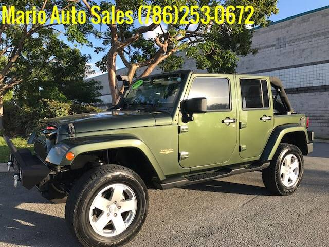 2007 Jeep Wrangler Unlimited Sahara 4dr SUV In Hialeah Gardens FL ...