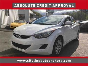 2011 Hyundai Elantra for sale at Cityline Auto Brokers in Malden MA