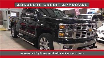2015 Chevrolet Silverado 1500 for sale at Cityline Auto Brokers in Malden MA