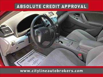 2011 Toyota Camry for sale at Cityline Auto Brokers in Malden MA