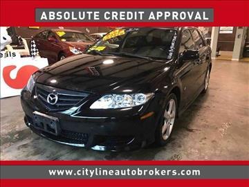 2004 Mazda MAZDA6 for sale at Cityline Auto Brokers in Malden MA