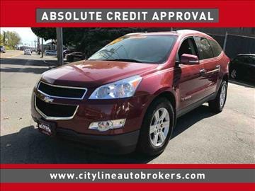 2009 Chevrolet Traverse for sale at Cityline Auto Brokers in Malden MA