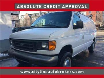 2004 Ford E-Series Cargo for sale at Cityline Auto Brokers in Malden MA