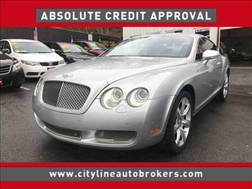 2005 Bentley Continental GT for sale at Cityline Auto Brokers in Malden MA