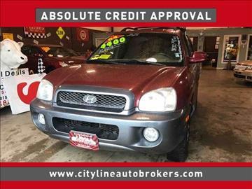 2004 Hyundai Santa Fe for sale at Cityline Auto Brokers in Malden MA
